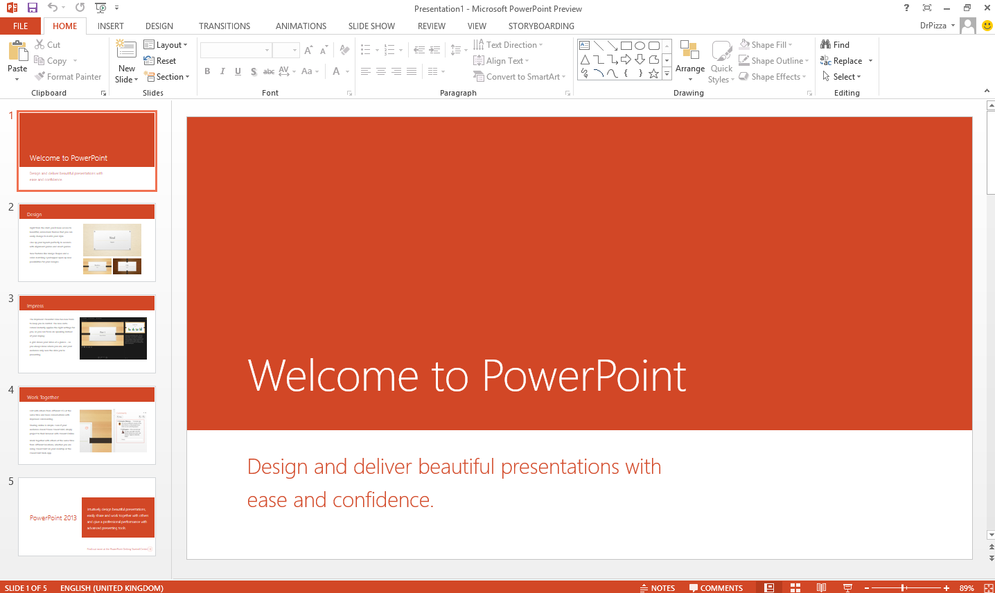 Cara Mempresentasikan PowerPoint Slideshow Dengan Presenter View